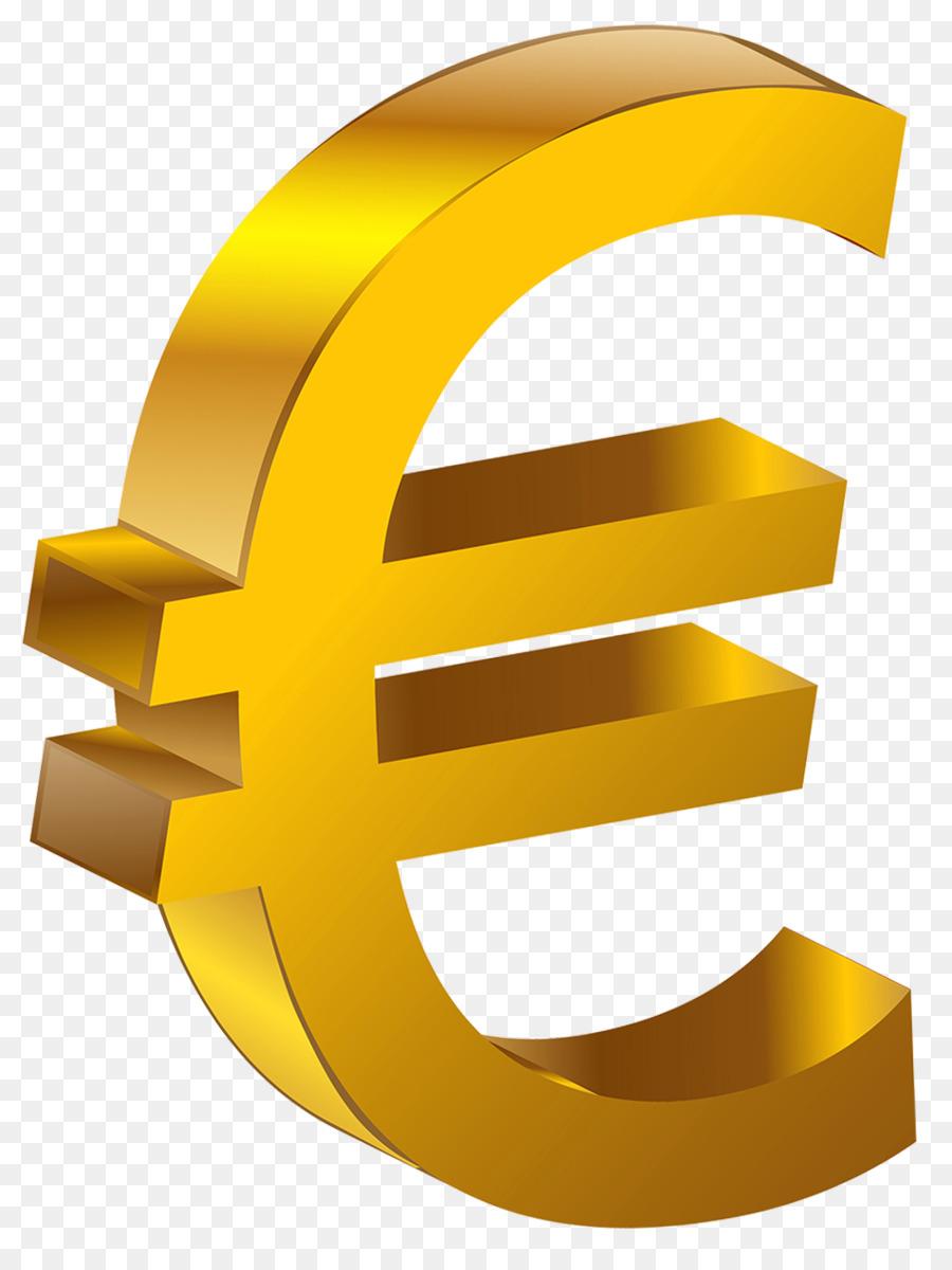 Euro sign 100 euro note Clip art.