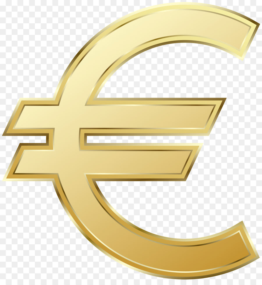 Euro sign 100 euro note Clip art.