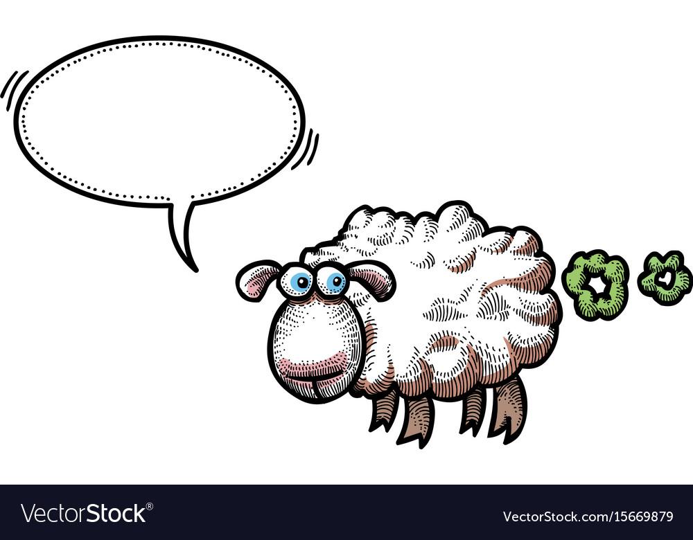 Farting sheep.