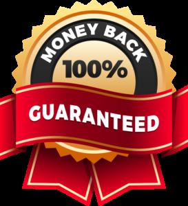 Download Free png 100 Money Back Guarantee Logo.