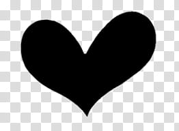 Era parte watchers, black heart transparent background PNG.