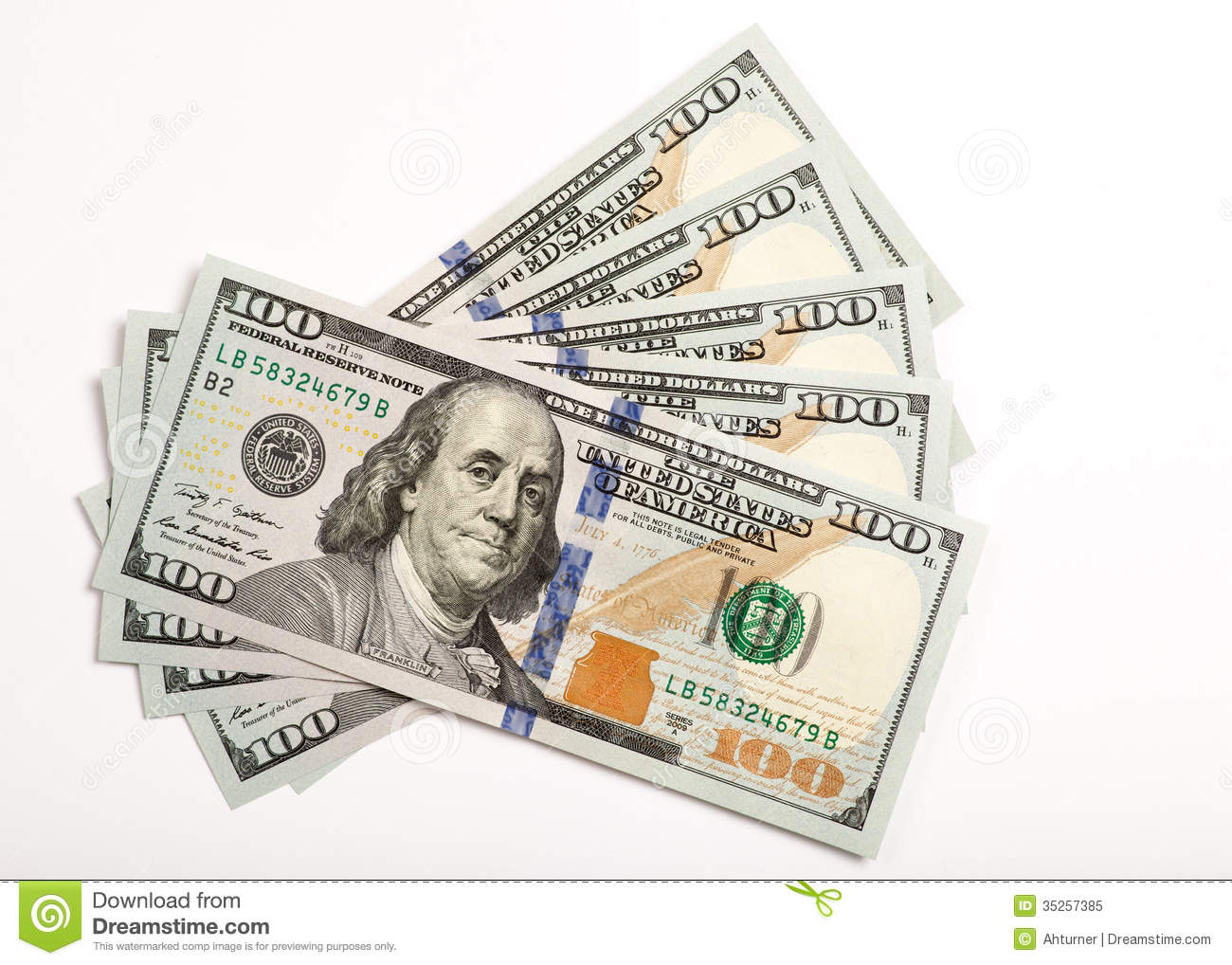 888 Dollar Bill free clipart.