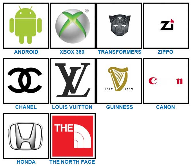 100 Pics Quiz Logos Level 61.