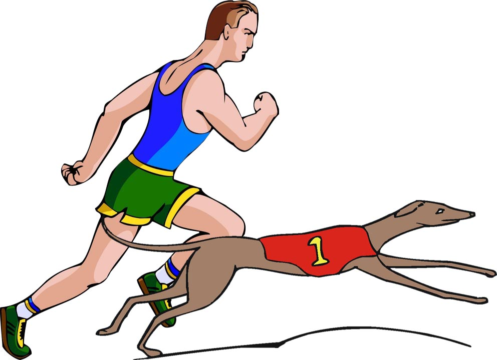 Dogs Versus Humans in the Olympic Games.