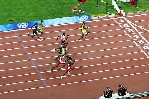 Physics Of Running.