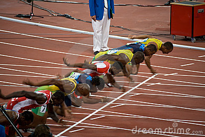 Olympics Mens 100.