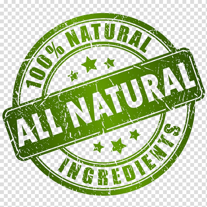 100% natural all natural ingredients text overlay, Organic.