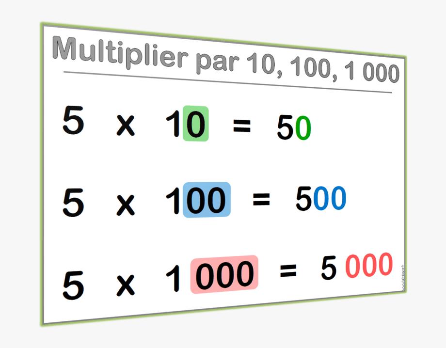 Multiplication Clipart Test Booklet.