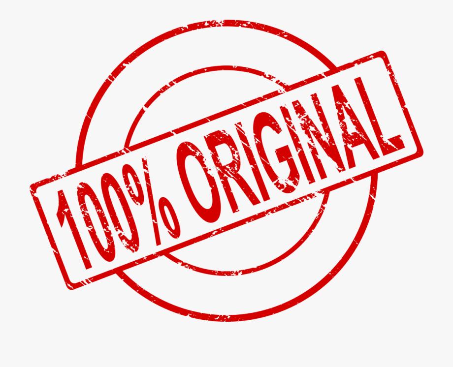100 Percent Original Stamp.