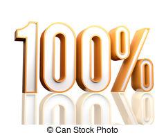 100 percent clipart #15
