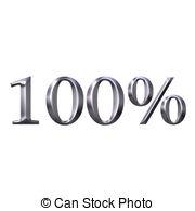 100 percent clipart #12