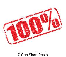100 percent clipart #19