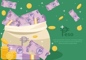 Pesos Free Vector Art.