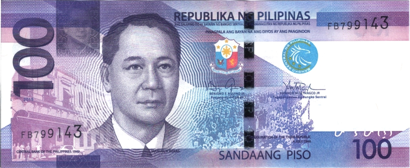 Download Free png 2015 100 Pesos New Generation.