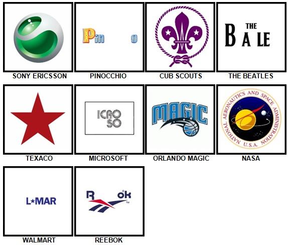 100 Pics Retro Logos Level 51.