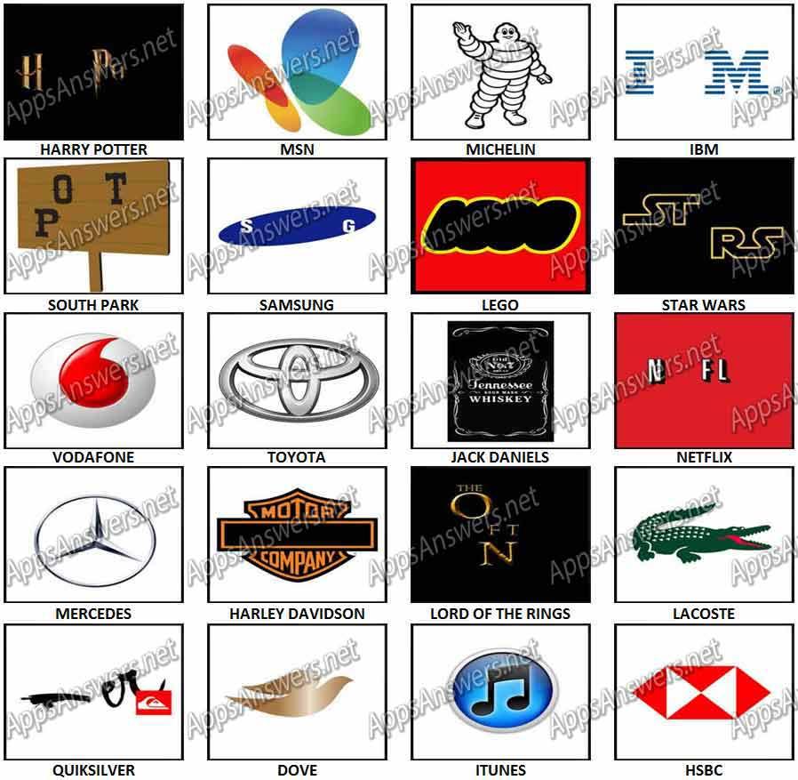 100 pics Logos.