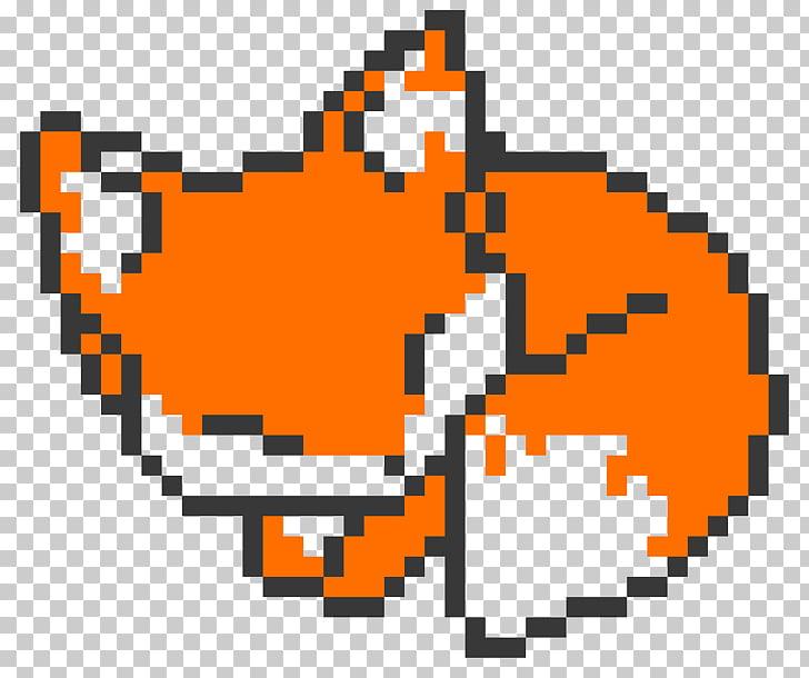 Pixel art Fox Mulder Drawing Dana Scully, pixel art animaux.