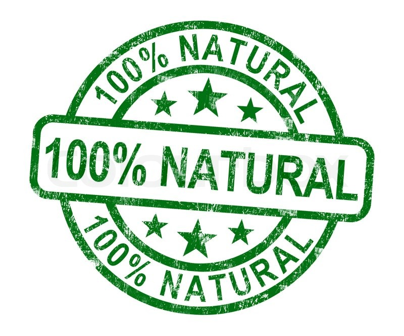 100% Natural Stamp Shows Pure Genuine.