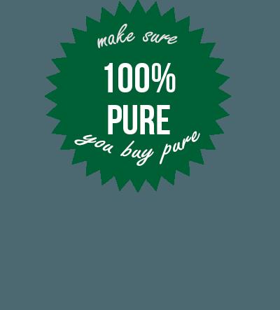 Sir Walter Turf 100% PURE Badge s.