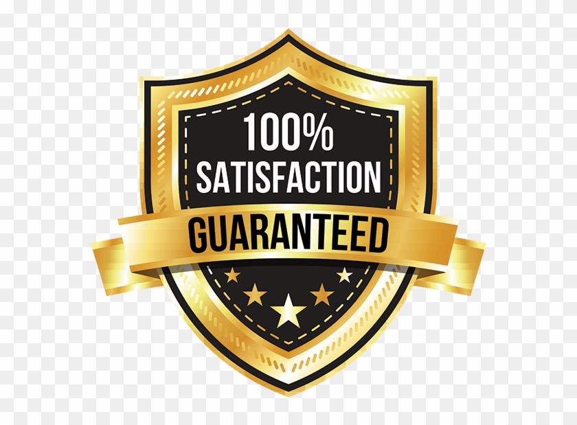 100 Satisfaction Guarantee Png.