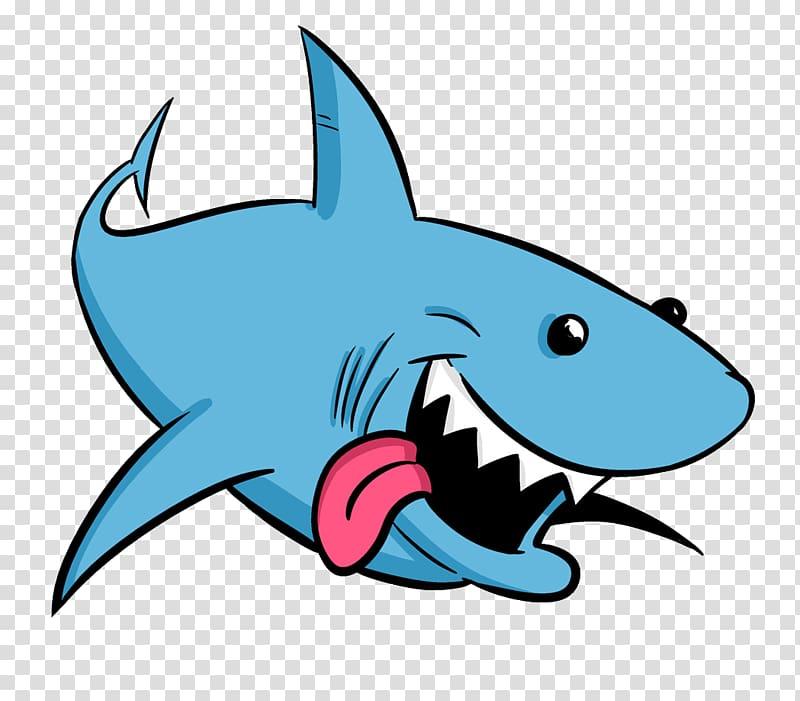 Blue shark , Shark Animation Drawing Cartoon , sharks.