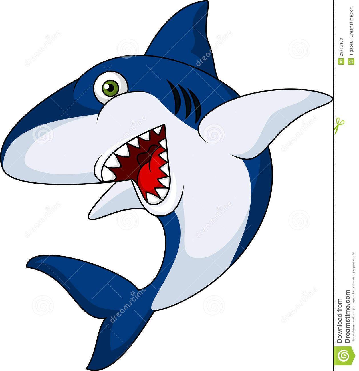 cartoon shark images.
