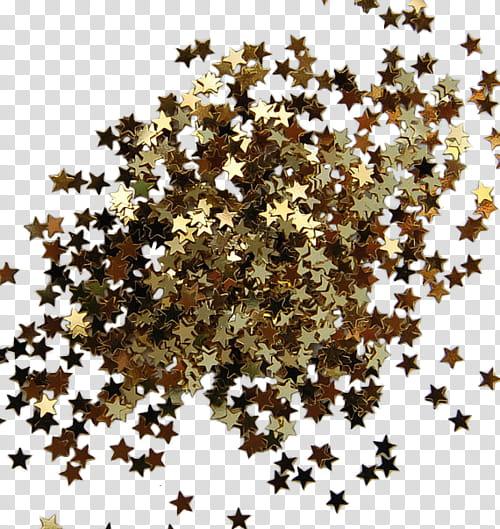 Watchers, brown stars illustration transparent background.