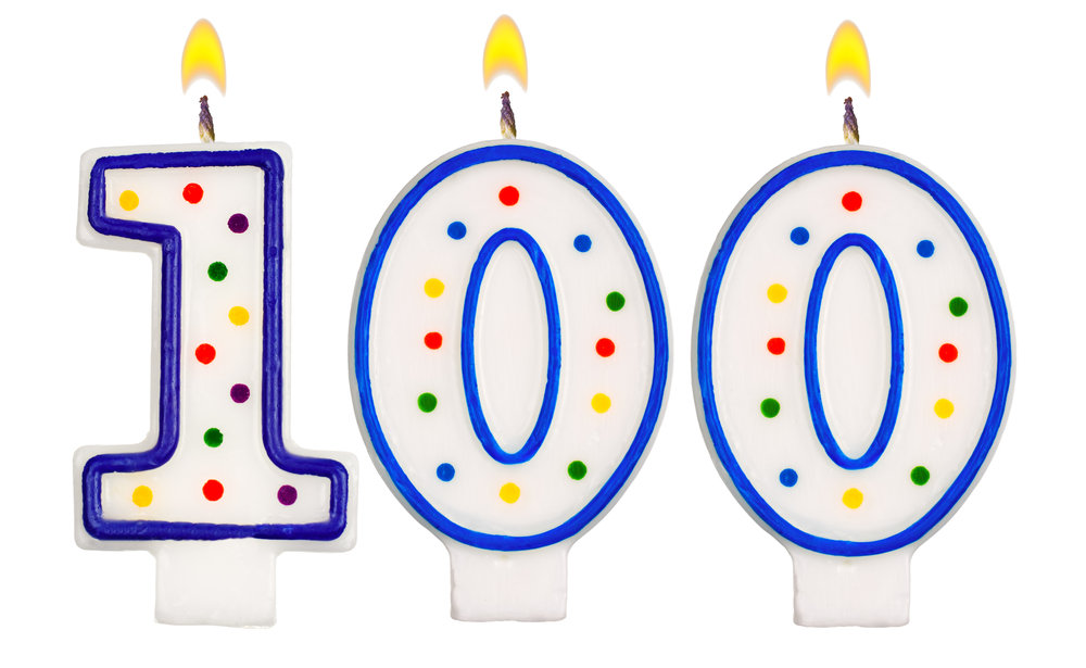 100 clipart 100th birthday, 100 100th birthday Transparent.