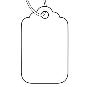 Avery White Merchandise Price Tags.
