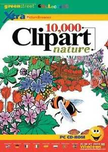 Details about Greenstreet 10,000 10K Nature Clipart Images.