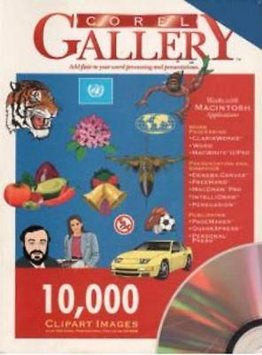 CorelGallery: 10,000 Clipart Images PC CD digital photo clip art set.