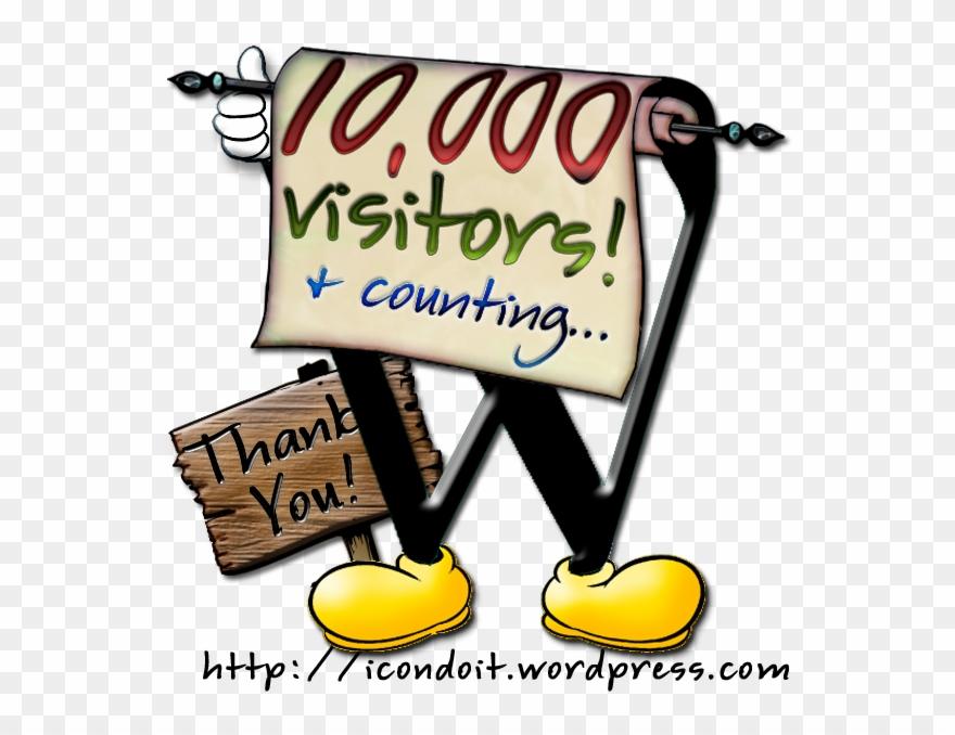 10,000 Visitors.