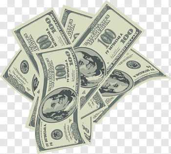 Pile of 10000 U.S. dollar banknotes, Money United States.