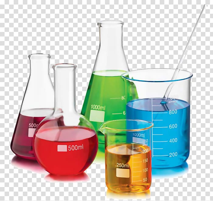 Beaker Chemistry set Laboratory Glass, glass transparent.