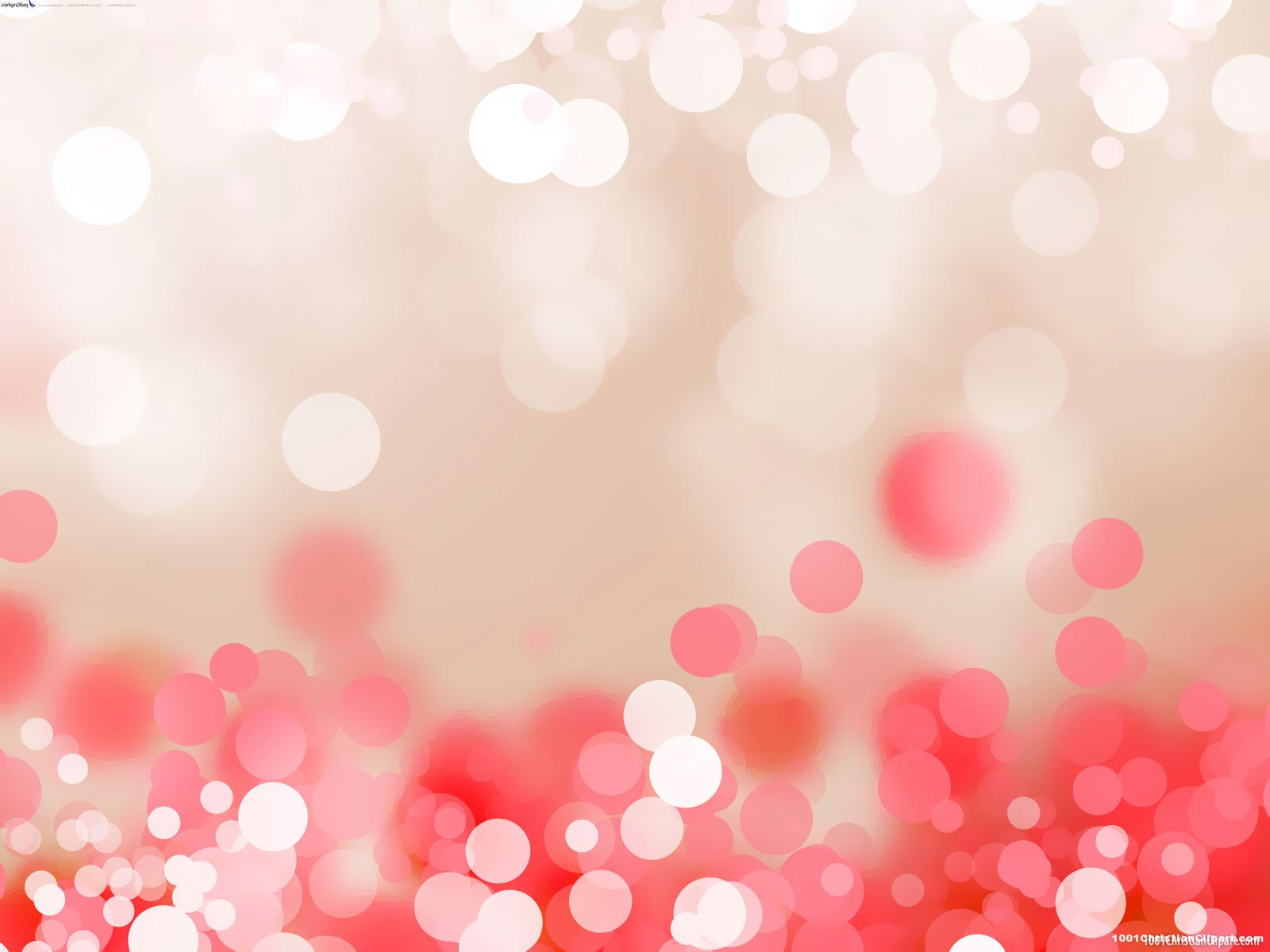 Free download Bokeh Red Pink Background for Powerpoint 1001.