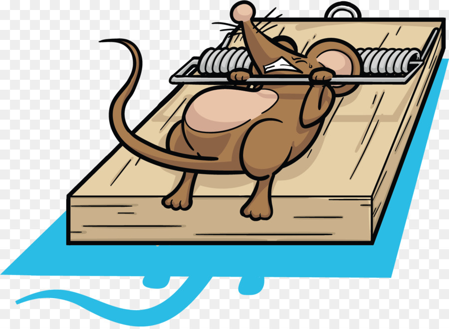 Rat Mousetrap Clip Art.