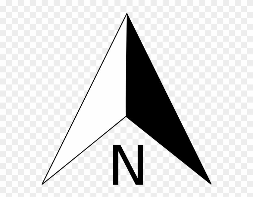 Free Clipart Popular 1001freedownloads Com North Arrow.