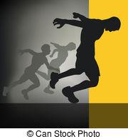 100m sprint Vector Clip Art Illustrations. 5 100m sprint clipart.