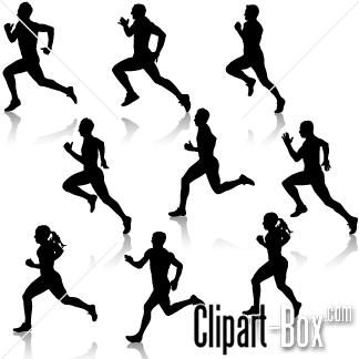 CLIPART RUNNERS.