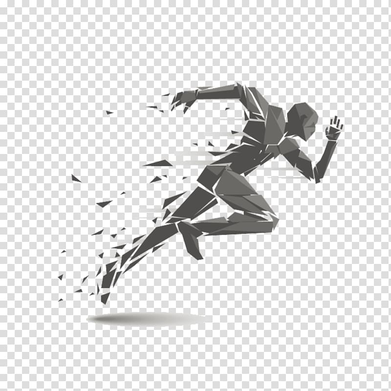 Track And Field Athletics transparent background PNG.