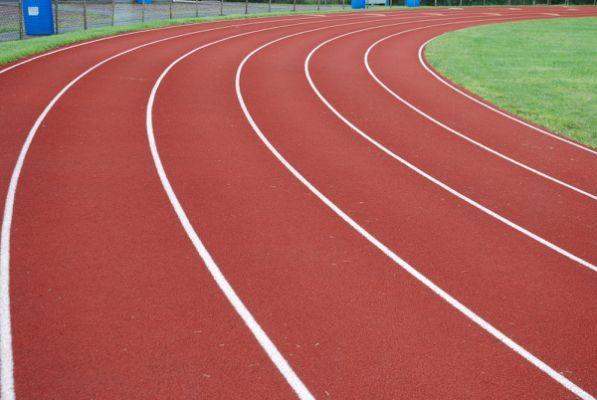 Running track clip art clipart.