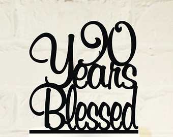 100th Birthday Cake Topper.