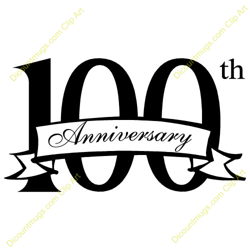 100 years clipart.