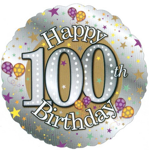100th Birthday Balloons Quotes #dG4vSi.