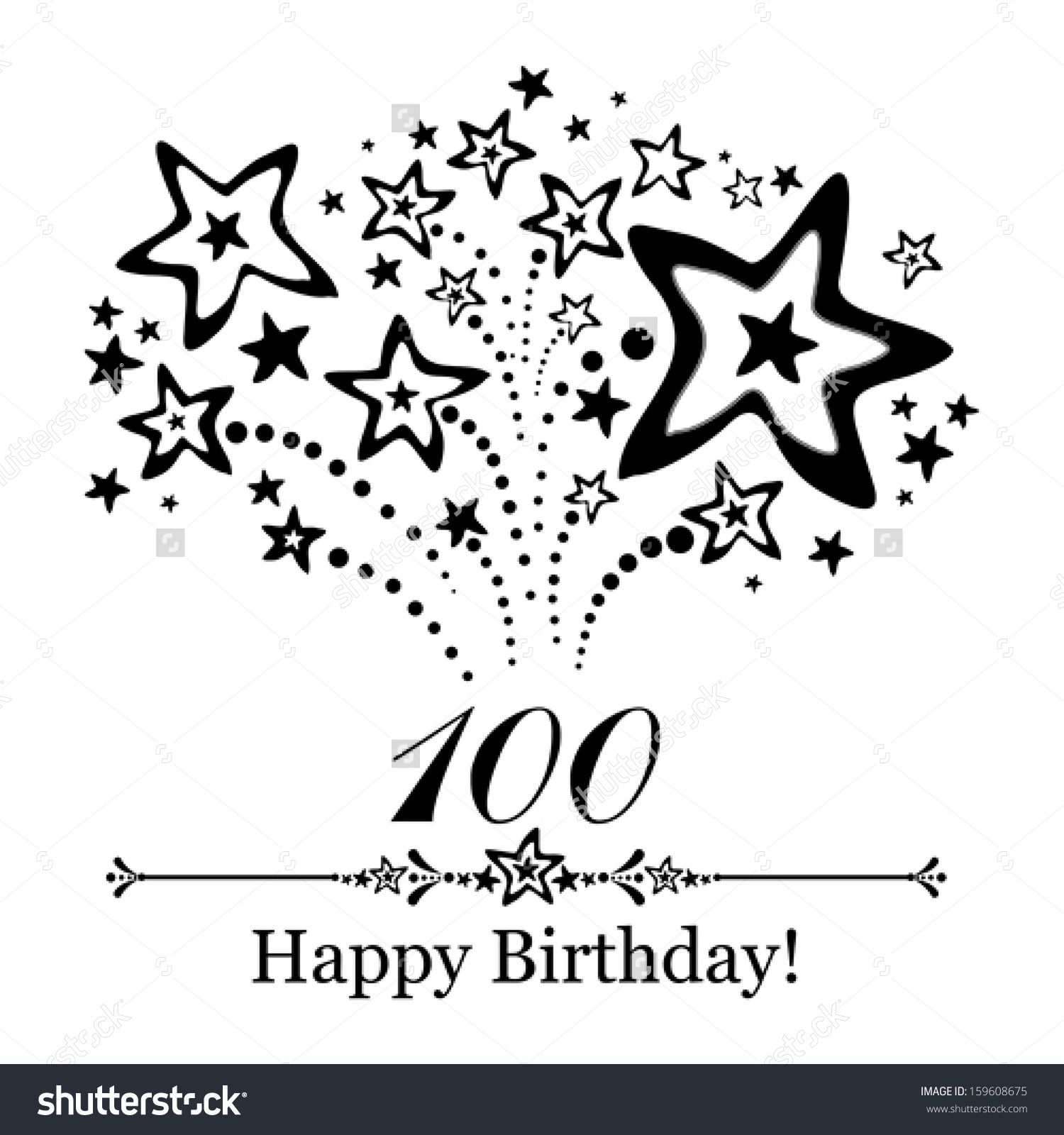 Image result for happy 100th birthday CARDS.