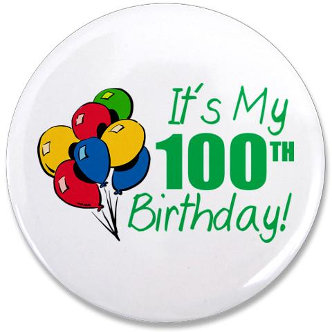 100 Birthday Clipart.