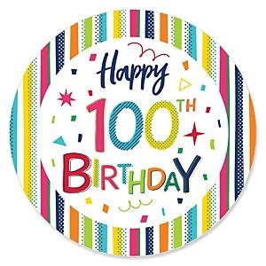 100th Birthday Theme & Ideas.