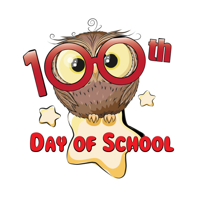 Owl 100th Day Of School 100 Days Smarter Gifts.