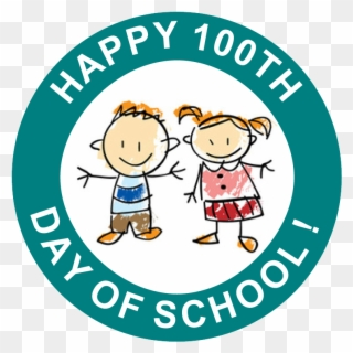 100th Day Of School Free Clipart, Transparent 100th Day Of School.