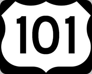 Highway 101 Clip Art at Clker.com.